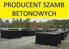 Cały kraj szamba szambo betonowe 4 5m3 6m3 7 8m3 9 10m3 12m3 - 1