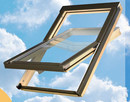 Okno dachowe o wymiarze 55x78 cm z kołnierzem TZ/TS - 4