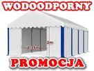 NAMIOT MAGAZYNOWY 5x8m garażowy handlowy hala namiotowa PE