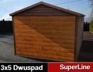 Komplexy szeregowe garaży blaszanych ocynkowanych i akrylowy - 14